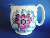 Lovely Gray's Pottery Art Deco Floral Jug c1930